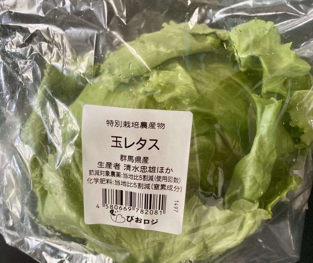 無農薬野菜のミレーの玉レタス