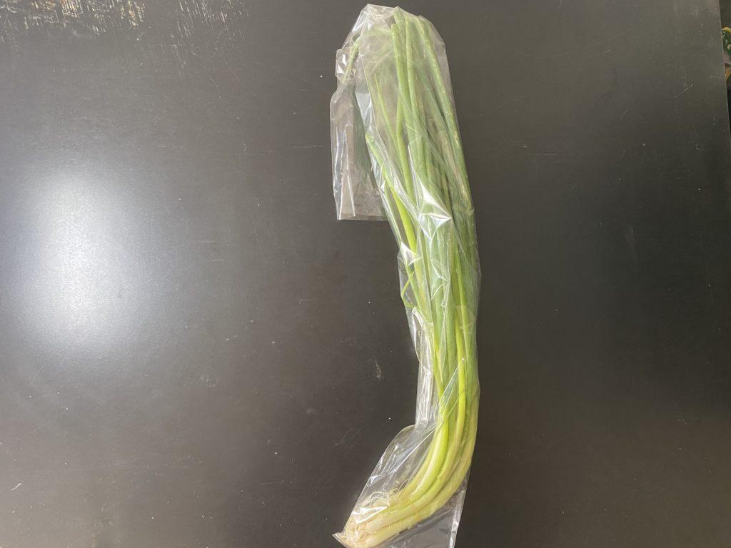 無農薬野菜のミレー葉ねぎ
